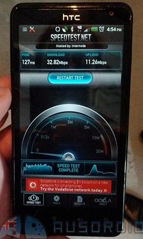 HTC Velocity First Australia 4G Phone on Telstra