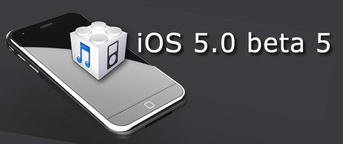 iOS5 beta 5