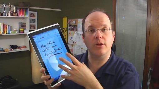 Office Touch EeeSlate - Doug