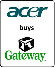 Acer buys Gateway
