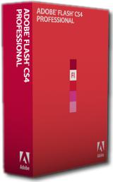 Adobe Flash CS4 box