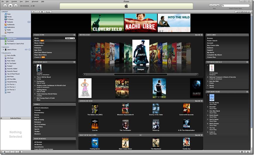 Australia movies iTunes