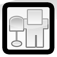 iPhone logo - digg