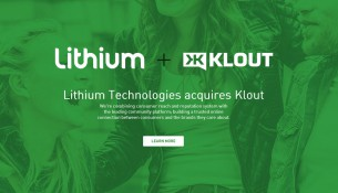 Lithium and Klout