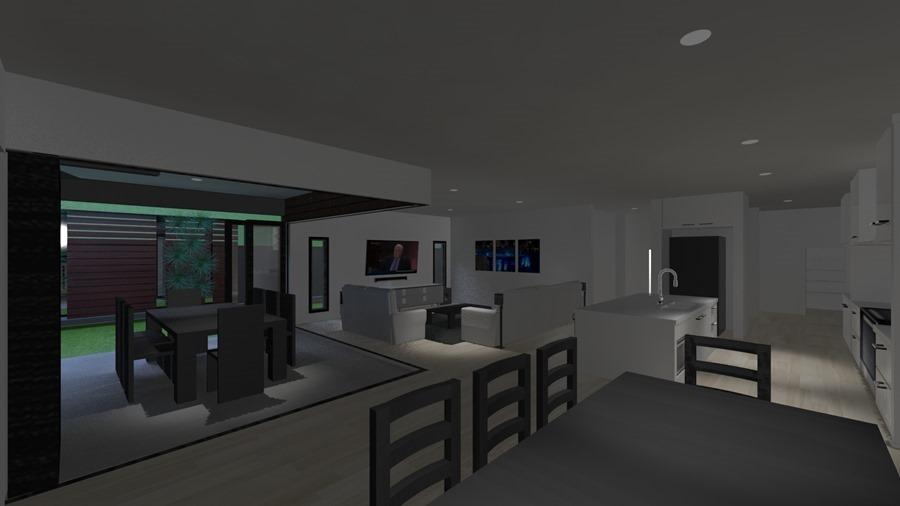 Fortitude 32 - Vogue - Lounge, kitchen, dining, alfresco