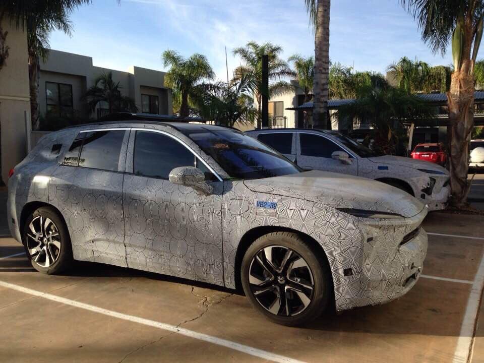 China S Nio Es6 Electric Car Caught Testing In Regional Victoria Techau